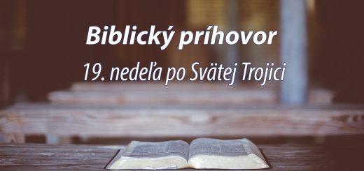 19. nedeľa po Svätej Trojici